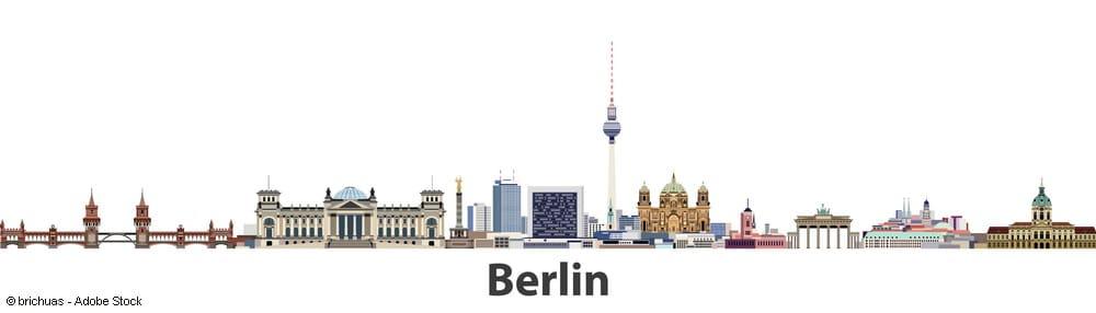 Wirtschaftsprüfer Berlin - Skyline